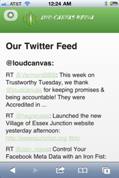 Loud Canvas Media - Twitter Feed